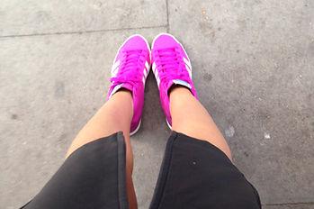 My adidas kicks