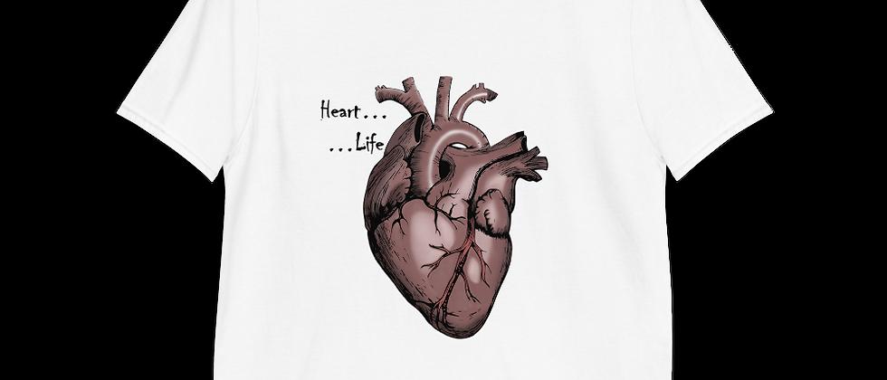 Short-Sleeve Heart T-Shirt