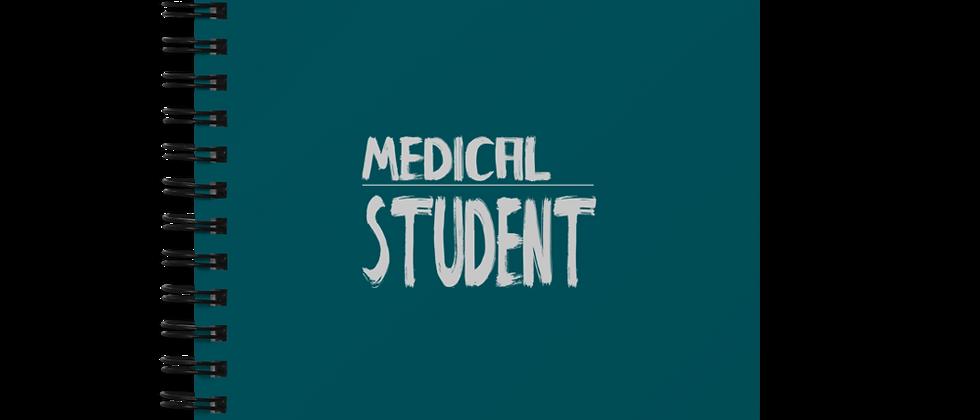 Spiral notebook - Medical student