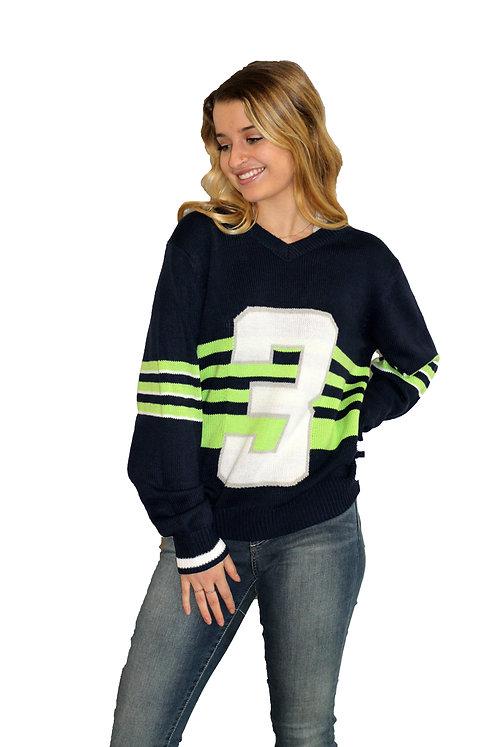 Seattle Stripes Sweater