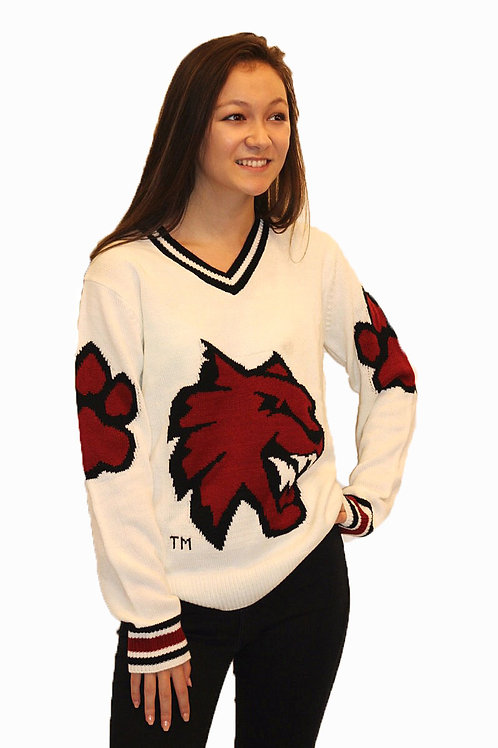 CWU Wildcat ~ White