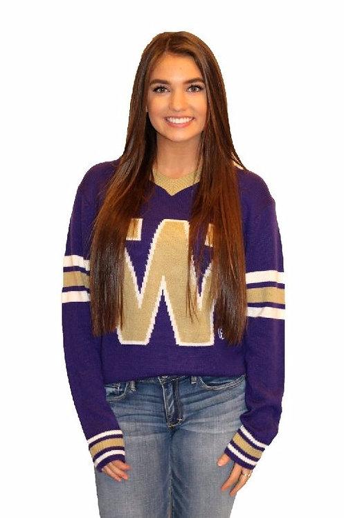 UW Classic ~  White, Purple