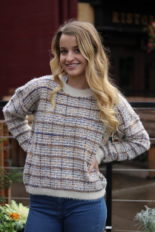 Multi-Stitch Sweater
