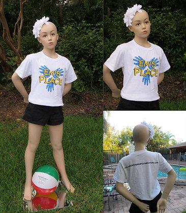 Em's Place Kids white t-shirt