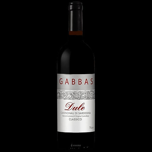 Gabbas Cannonau Di Sardegna DOC 2014
