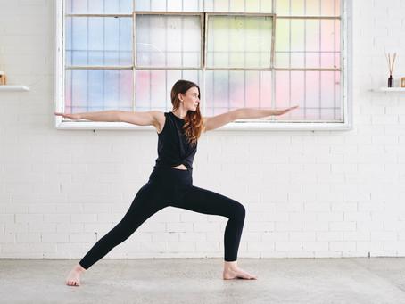 Yoga on the go.