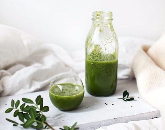 Carmelle's Clean Green Breakfast