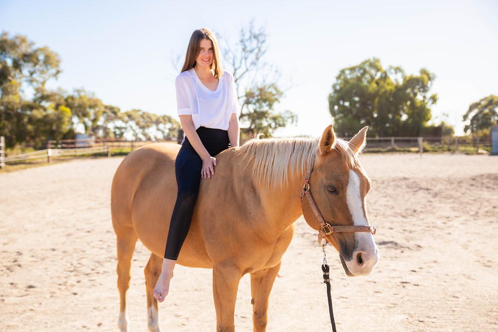 Horse Yoga | Danielle Joan