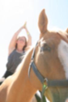 Horse and Yoga - Radiant Sol Yoga Port Melbourne Horse Yoga