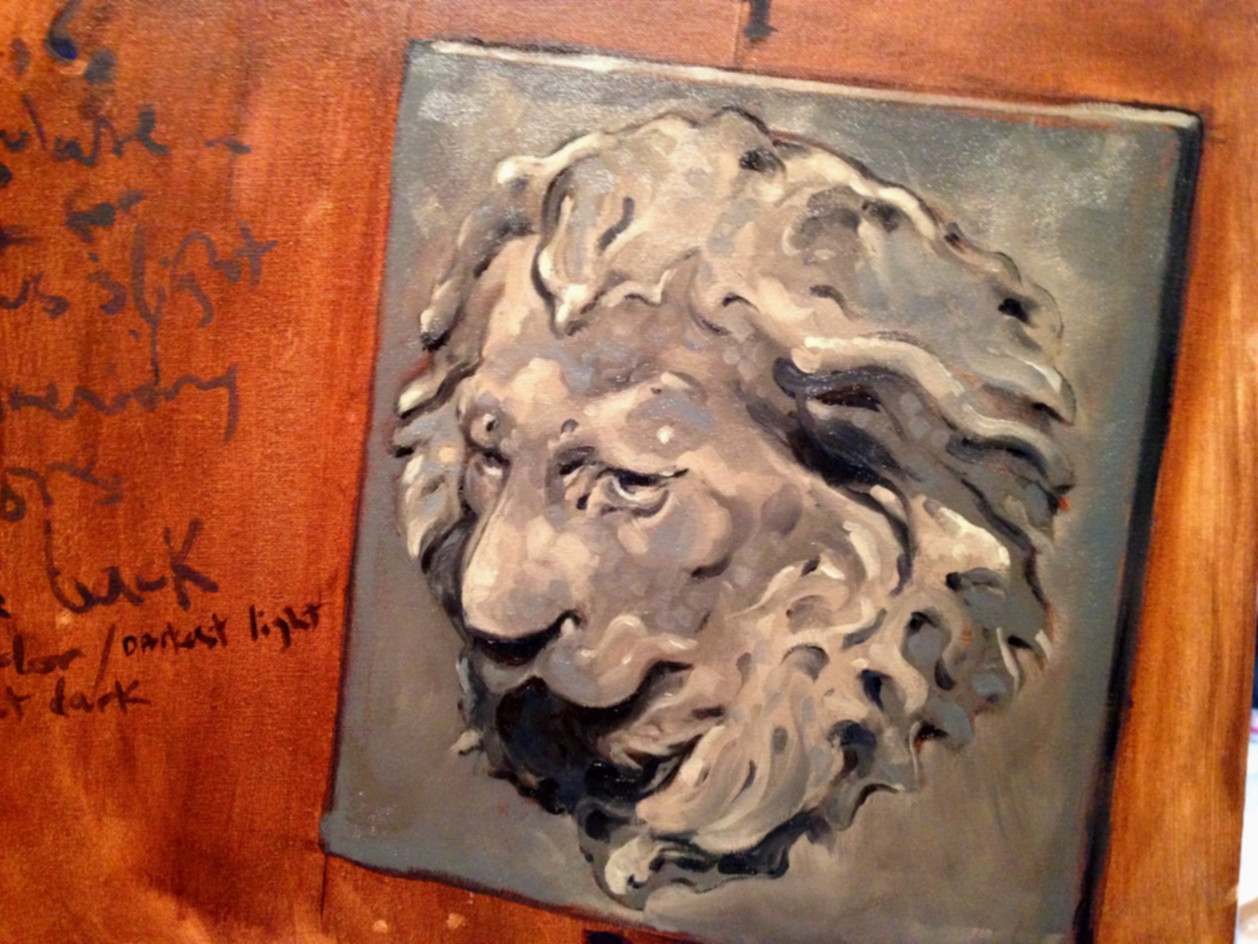 Untitled / Plaster Lion Study