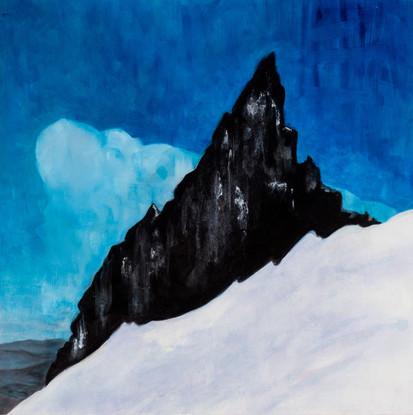 Illumination Rock, Mt Hood / Blue Sky