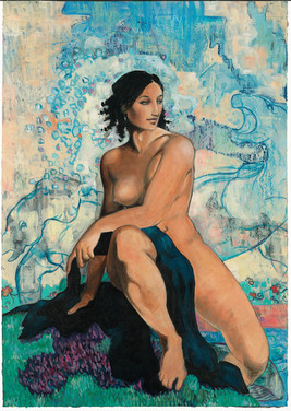 Serebriakova / The Bather