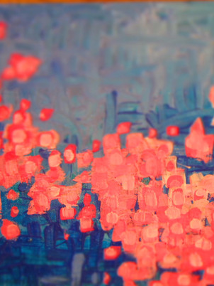 Neon Pink Flowers