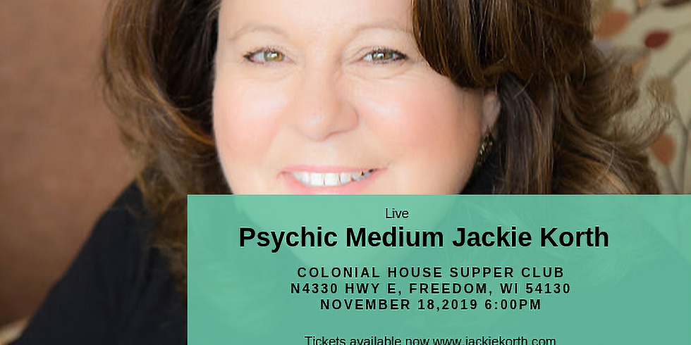 Evening with Psychic Medium Jackie Korth - Freedom