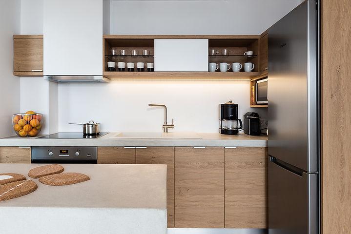 fos villa full kitchen
