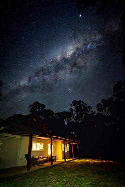 Stargazing at Starlight Cabin