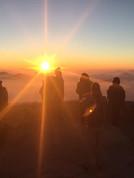 Mission trip to Israel. Mount Sinai