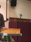 Gabriel preaching in Wales.