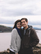 Gabriel and Louise in Wales.