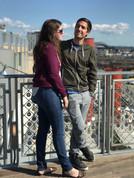 Gabriel and Louise in Seattle, Washington.