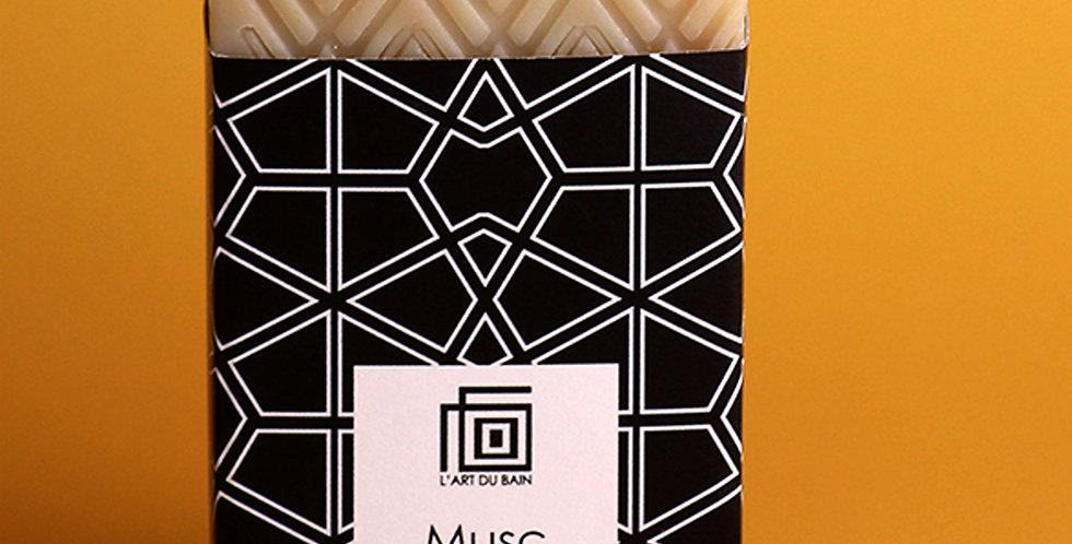 Savon Mauresque MUSC BLANC | L'ART DU BAIN