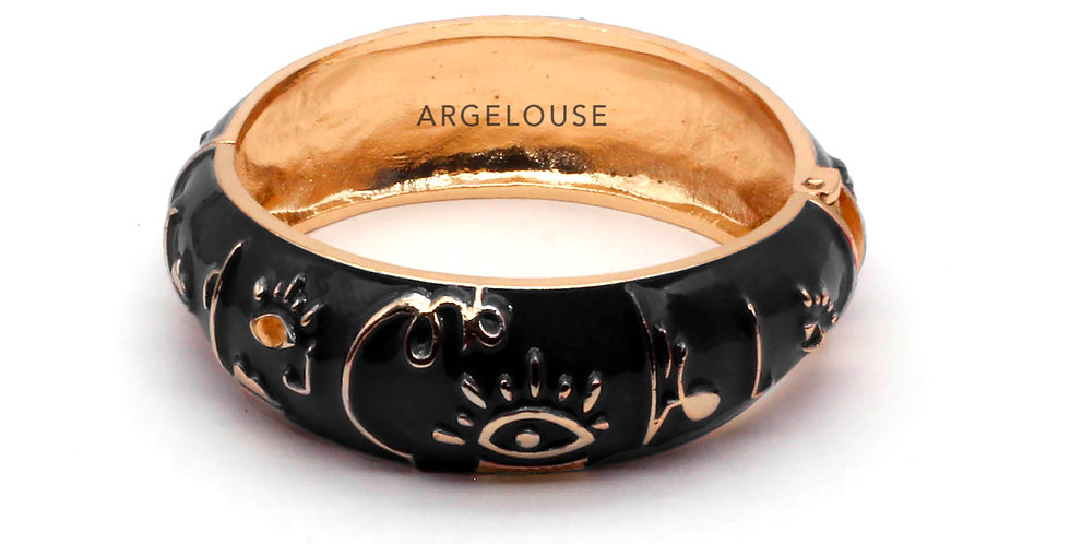 Bracelet LARGE AMOK ABSTRAIT | Argelouse
