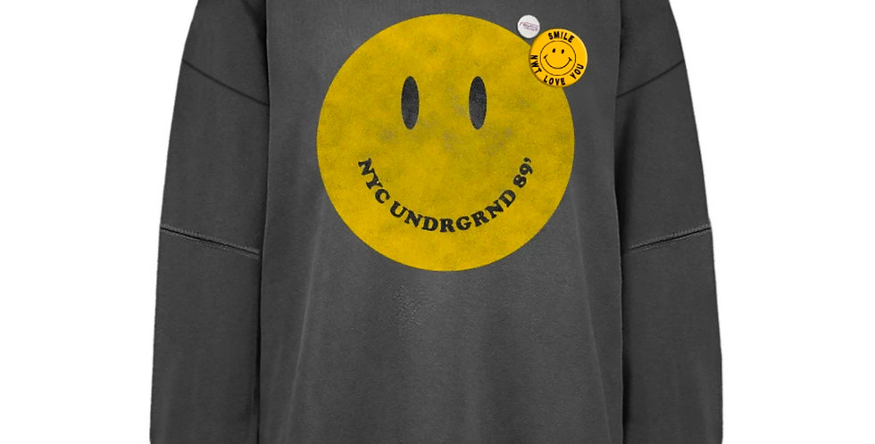 Sweatshirt SMILEY PEPPER ROLLER| Newtone