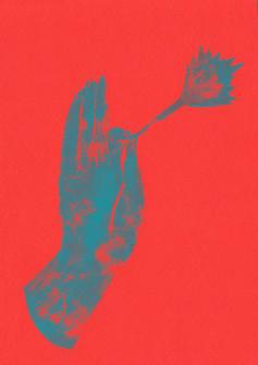 bengal mudra (red)
