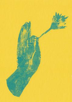 bengal mudra (yellow)