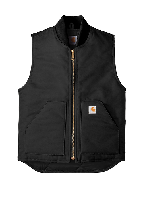 Carhartt Duck Vest Arctic-Quilt Lined Black XL