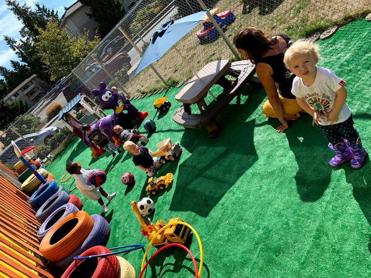 Outdoor Fun on Little Playground