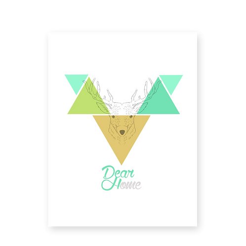 Lámina Deer