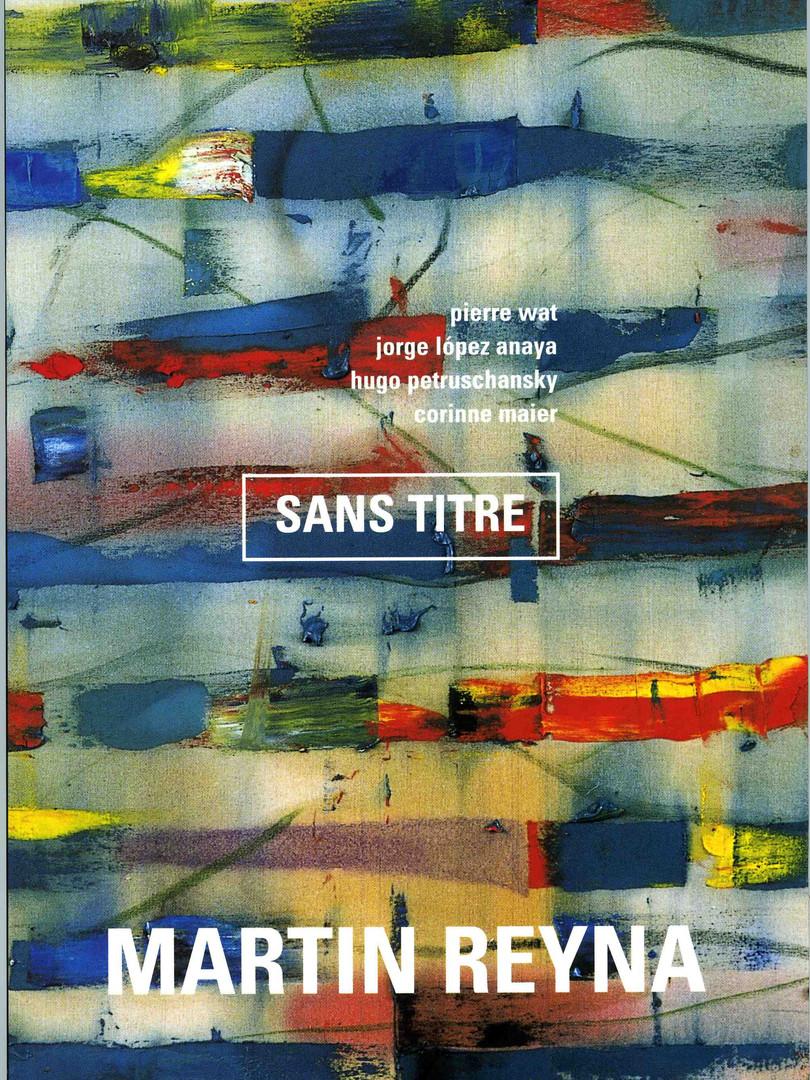 """2005, Livre """"Sans titre"""", ParisMusées, Paris"""