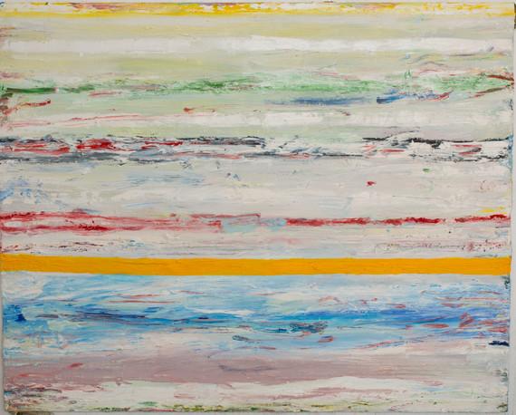 """Paysage"", 2018, oil on canvas, 130 x 162 cm"