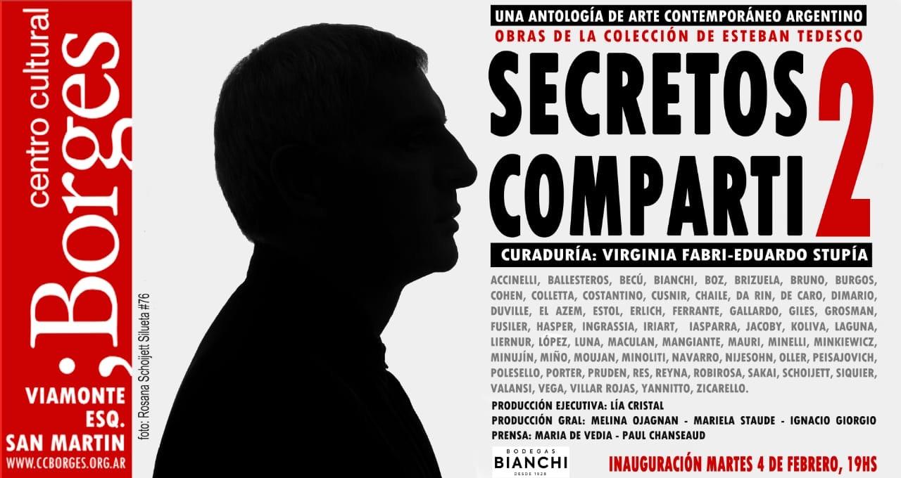 "2019, ""Secretos compartidos"", Centro Cultural Borges, Buenos Aires, Argentina"