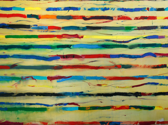 """""""Rue Nationale"""", 2007, acrilyc on canvas, 200 x 300 cm."""