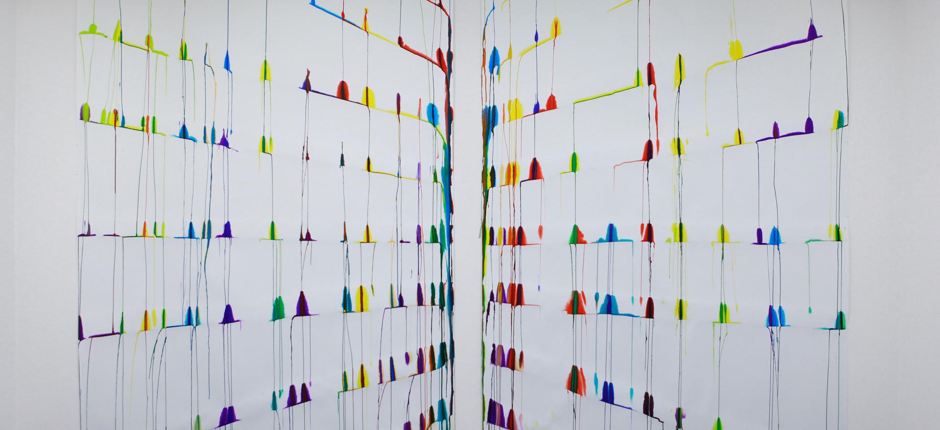 """2012, """"A l'horizon de la couleur"""", Galerie MGE, Paris"""