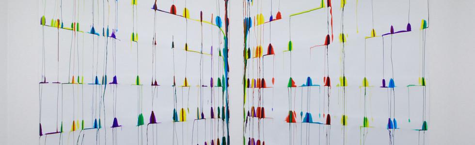 """""""A l'horizon de la couleur"""", Galerie MGE, 2012, Paris"""