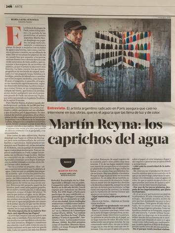 2015, Clarín, Suplemento Ñ, Buenos Aires, Los Caprichos del agua, María Laura Avignolo