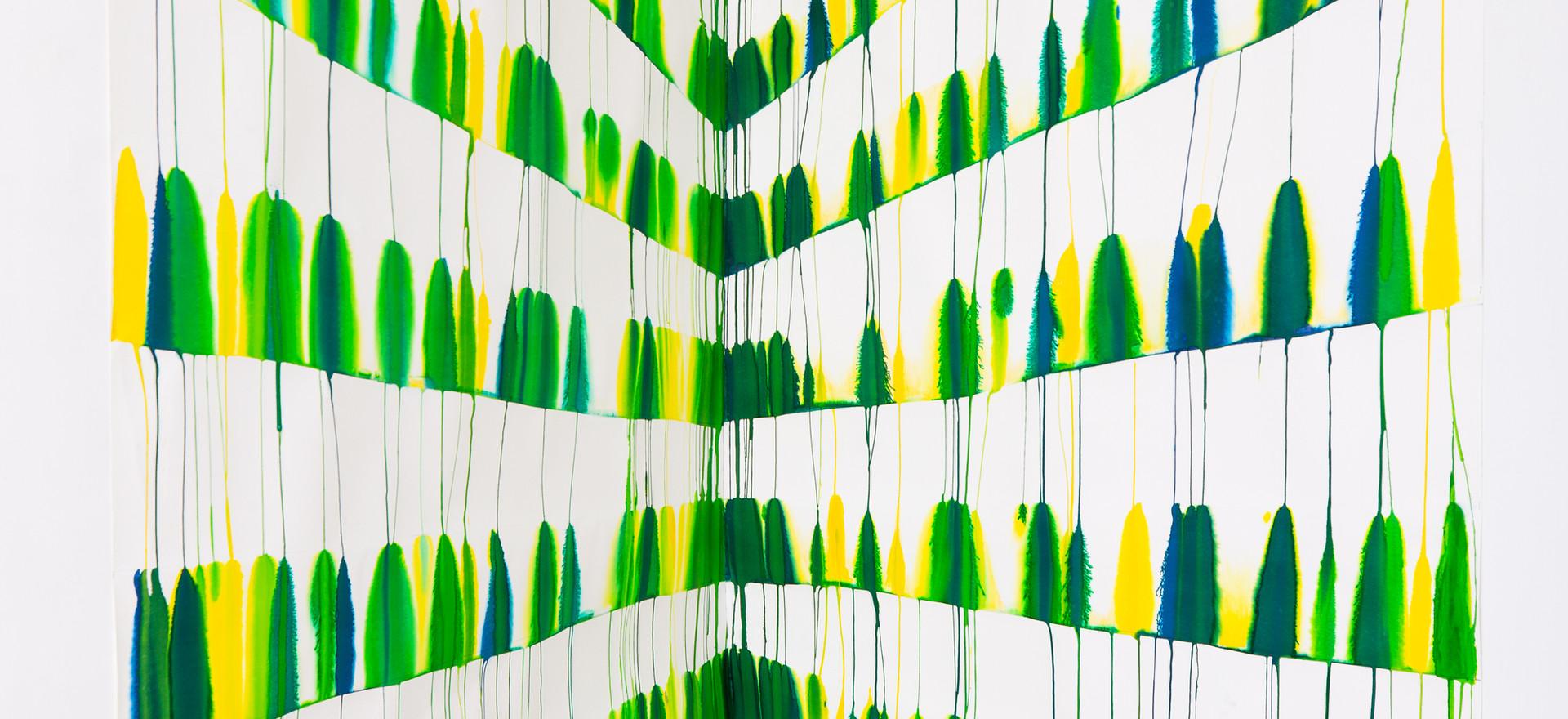 """2019, """"Quatre petits points...."""", Galerie Escougnou, Paris"""