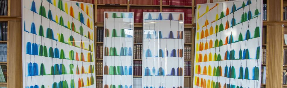 """""""La bibliothèque"""", 2018, bibliothèque médicale Henri Ey du Centre Hospitalier Saiinte Anne, Paris, Photo Julien Doublet"""