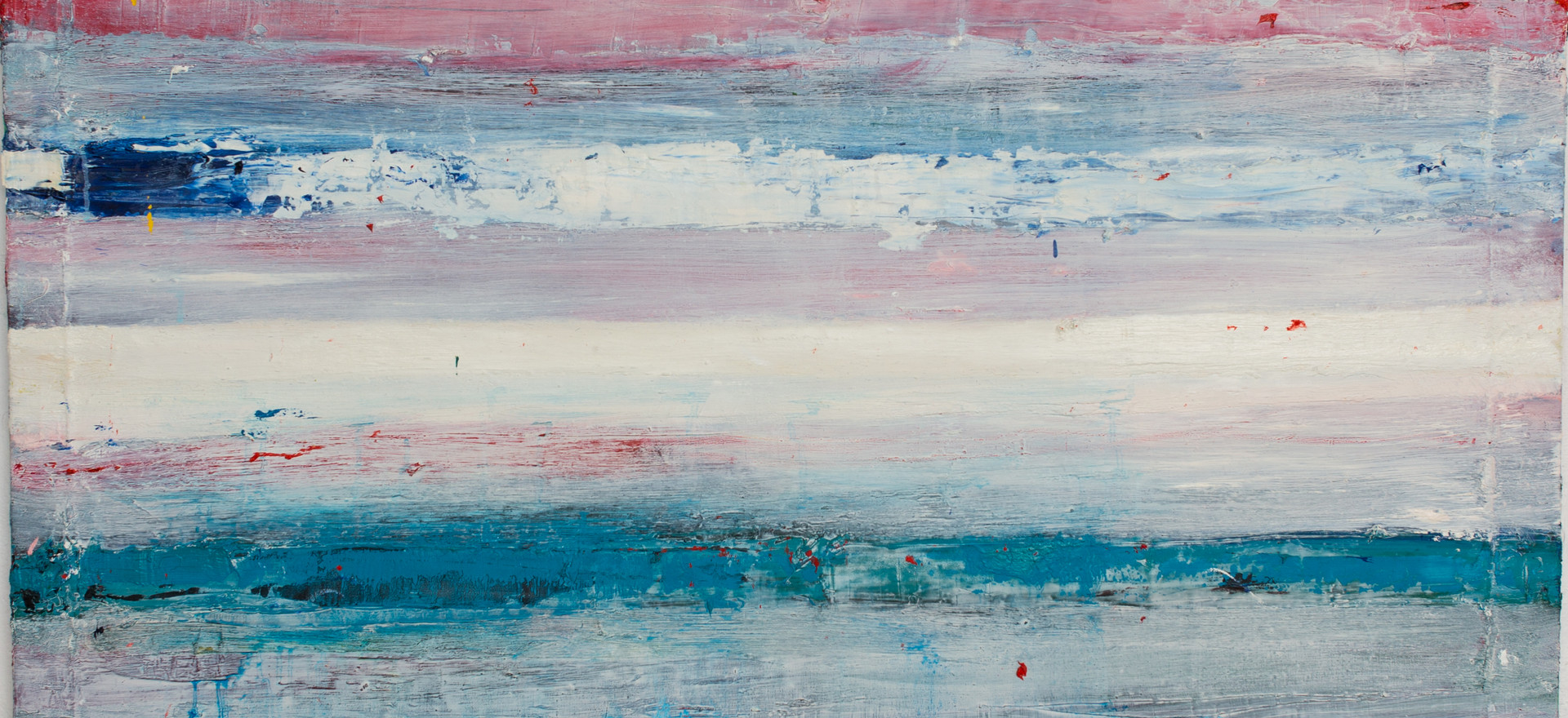"""Paysage"",oil on canvas 130 x 130 cm."