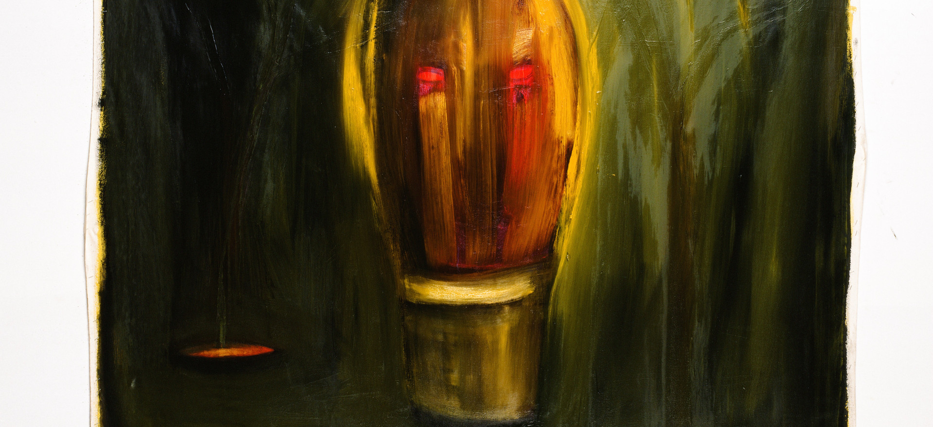 """""""Untitled"""", 1995, oil on canvas, 150 x 150 cm."""