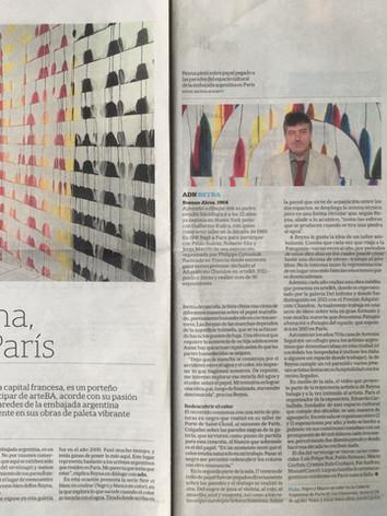 2014, ADN La Nación, Buenos Aires, Martín Reyna, un argentino en París, Nathalie Kantt