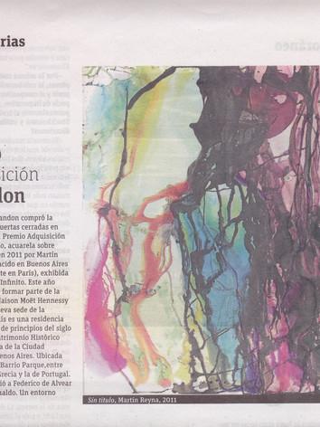 2012,La Nación, ADN, Premio Adquisición Chandon