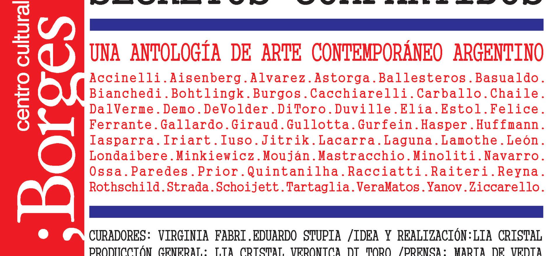 2019, Secretos compartidos, Centro Cultural Borges, Buenos Aires