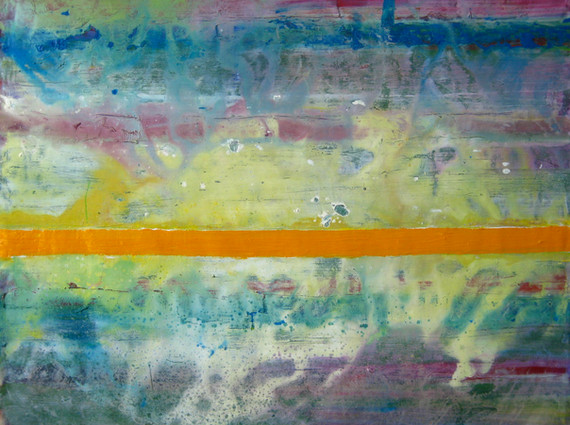 """""""Untitled"""", 2012, oil on canvas, 130 x 130 cm."""