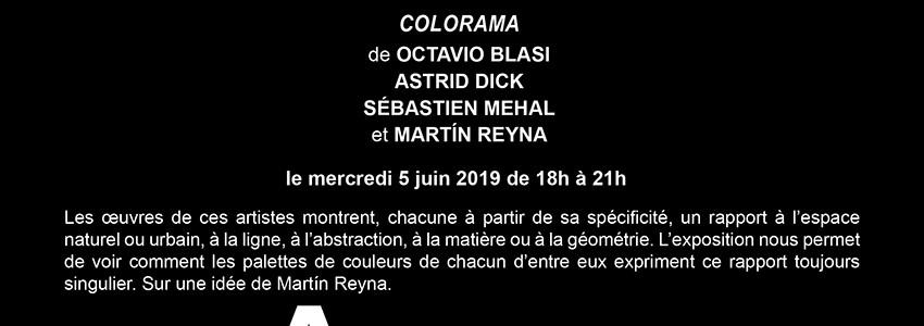 2019, Colorama, Galerie Argentine, Paris