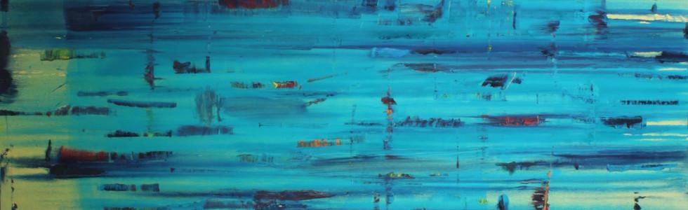 """Paysage"", 2000, oil on canvas, 200 x 180 cm."