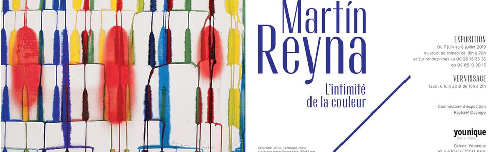2019, L'intimité de la couleur, Galerie Younique, Paris